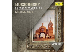 Carlo Maria Giulini, Chicago Symphony Orchestra - Mussorgsky - Pictures at an Exhibition (CD)