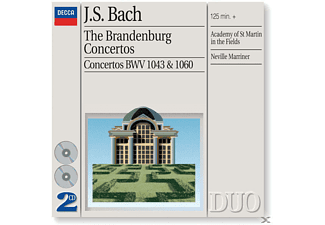 VARIOUS, Neville/amf/+ Marriner - Brandenburgische Konzerte 1-6/+ - (CD)