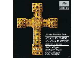 VARIOUS, Stader/Töpper/Richter/MBO - Messe H-Moll Bwv 232 [CD]