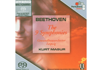 Kurt Masur - Beethoven: The 9 Symphonies  [Box Set] - (CD)