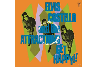 Attractions, Elvis Costello - Get Happy [CD]