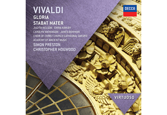 Kirkby/Bowman/Preston/Hogwood/AAM/+ - Gloria/Stabat Mater/+ [CD]