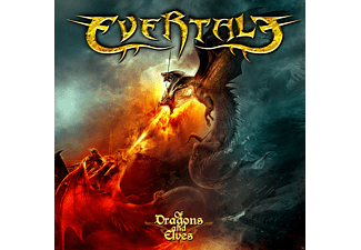 Evertale - Of Dragons And Elves - (CD)