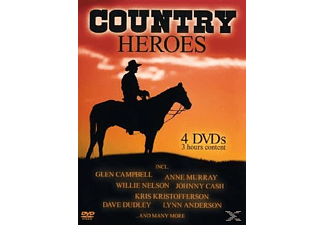 VARIOUS, Glen Campbell, Anne Murray, Willie Nelson - Country Heroes - (DVD)