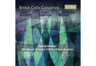 Raphael Wallfisch, Bbc National Orchestra Of Wales - British Cello Concertos [CD]