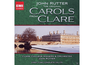 Rutter/Clare College Singers - Original Carols From Clare [CD]