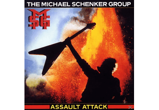 Micha Schenker, Michael Schenker Group - Assault Attack-Remaster - (CD)