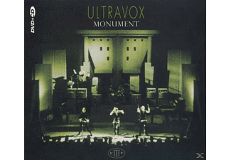 Ultravox - Monument-Live-Ost (Remaster) - (CD + DVD Video)