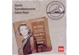 Brown, Meyer Sabine, Asmf, Sabine/asmf/brown Meyer - Klarinettenkonzerte - (CD)