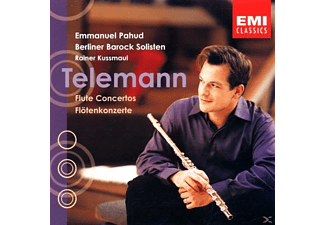 Emmanuel Pahud, Berliner Barock Solisten - Konzert F.Flöte+And.Instr. [CD]