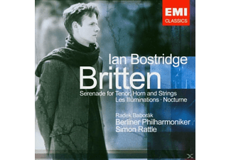 Bostridge/Baborak/BP/Rattle - Lieder [CD]