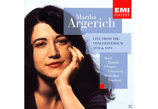 Martha Argerich - Klavier Recital - (CD)