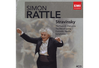 Cbso - Rattle-Edition:Strawinsky - (CD)