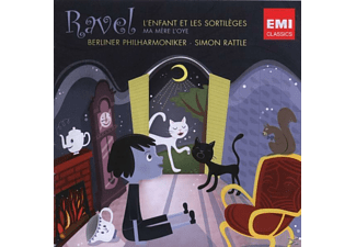Rattle - L'enfant Et Les Sortilegesma Mere L'oye - Suite [CD]