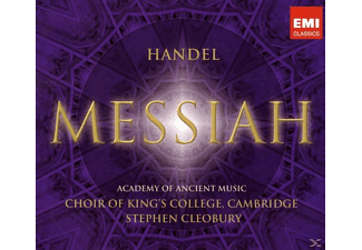 KING'S COLLEGE CHOIR/CLEOBURY, King's College Choir,Cambridge/Cleobury,Stephen - Messiah [CD]