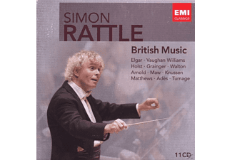 Cbso, Simon/cbso Rattle - Rattle Edition:British Music [CD]