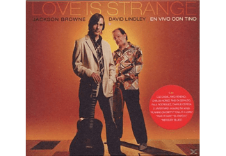 BROWNE,JACKSON & LINDLEY,DAVID - Love Is Strange - En Vivo Con Tino - (CD)