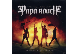 Papa Roach - Time For Annihilation... - (CD)