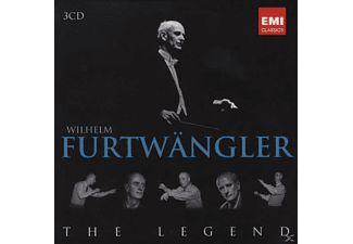 Wilhelm Furtwängler - The Legend - (CD)