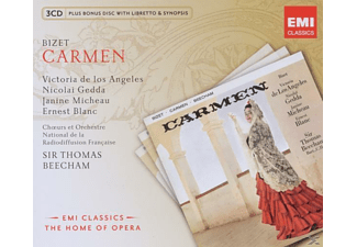 Gedda, De Los Angeles, Thomas Beecham, Thomas De Los Angeles/gedda/beecham - Carmen (Ga) - (CD)