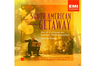 Julian Banse, Die 12 Cellisten der Berliner Philharmoniker - South American Getaway [CD]