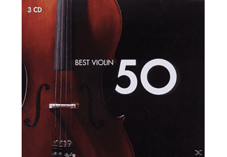 VARIOUS - 50 Best Violin [CD]