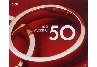 VARIOUS - 50 Best Wedding [CD]
