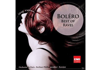Herbert von Karajan, Karajan/BP/OP - BOLERO - BEST OF RAVEL [CD]