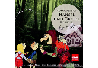 Wallberg/Moser/Prey - Hänsel Und Gretel-For Kids [CD]