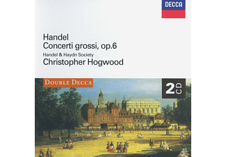 VARIOUS, Christopher/handel And Haydn Society Hogwood - Concerti Grossi Op.6 Nr.1-12 - (CD)