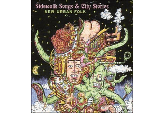 Various - Sidewalk Songs & City Stories-New Urban Folk - (CD)