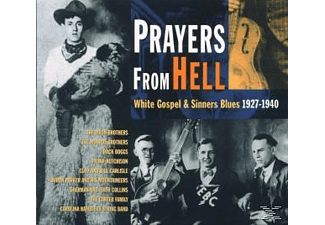 Various - Prayers From Hell-White Gospel & Sinners Blues - (CD)