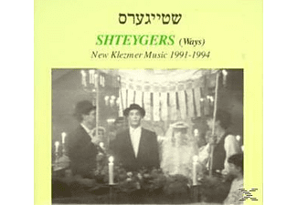 VARIOUS - Shteygers-New Klezmer Music 1991-1994 - (CD)