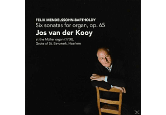 Jos Van Der Kooy - Six Sonatas For Organ,op.65 - (CD)