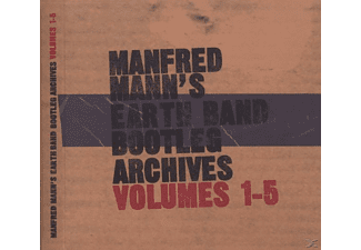 Manfred Mann' S Earth Band - Bootleg Archives Vol.1-5 - (CD)