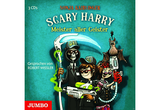 Scary Harry - Meister aller Geister - 3 CD - Kinder/Jugend