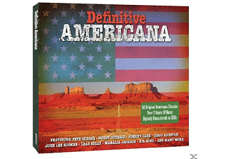 VARIOUS - Definitive Americana - (CD)