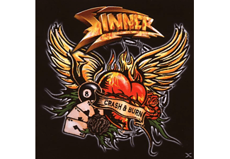 Sinner - Crash & Burn - (CD)