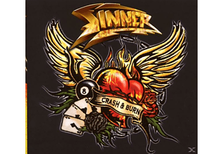 Sinner - Crash & Burn (Ltd.Ed.) - (CD)