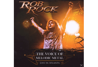 Rob Rock - The Voice Of Melodic Metal Live In Atlanta - (CD)