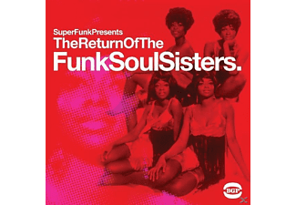 VARIOUS - Return Of The Funksoul Sisters - (CD)