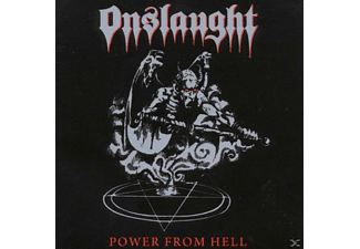 Onslaught - Power From Hell (Re-Release+Bonus) - (CD)