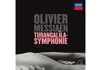 Royal Concertgebouw Orchestra - Olivier Messiaen: Turangalila Symphony [CD]