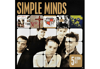 Simple Minds - 5 Album Set [CD]