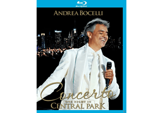 Andrea Bocelli - Concerto:One Night In Central Park - (Blu-ray)