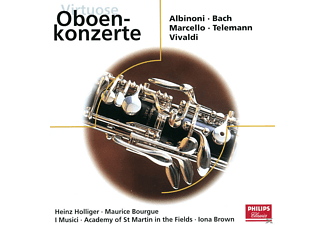 Heinz Holliger, Maurice Bourgue, Iona Brown, Academy of St. Martin in the Fields, I Musici - OBOENKONZERTE - (CD)