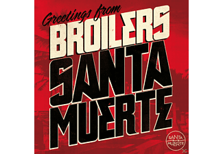 Broilers - SANTA MUERTE (STANDARD VERSION) [CD]