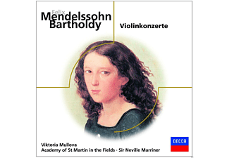 Viktoria Mullova, Academy of St. Martin in the Fields, Sir Neville Marriner - MENDELSSOHN - VIOLINKONZERTE - (CD)