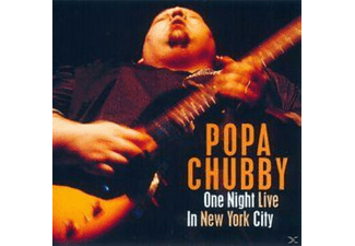 Popa Chubby - One Night Live In New York City [CD]