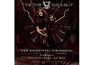 Victor Smolski - Two Orchestral Symphonies - The Heretic & Majesty And Passion [CD]